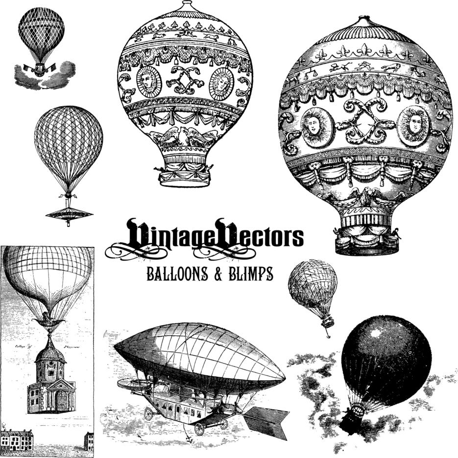 Balloons, Blimps & Dirigibles