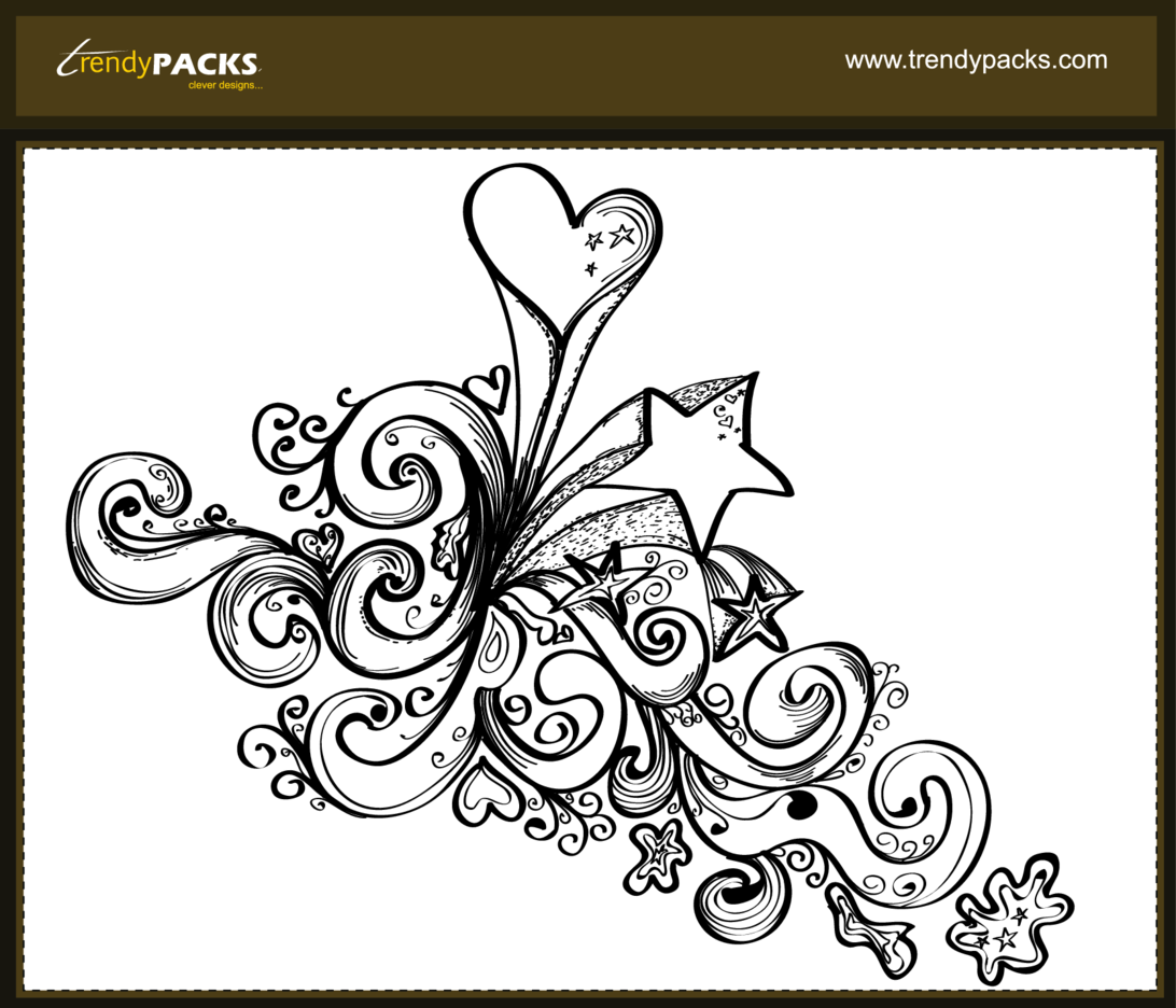 Free Hand Drawn Vector Ornaments 2
