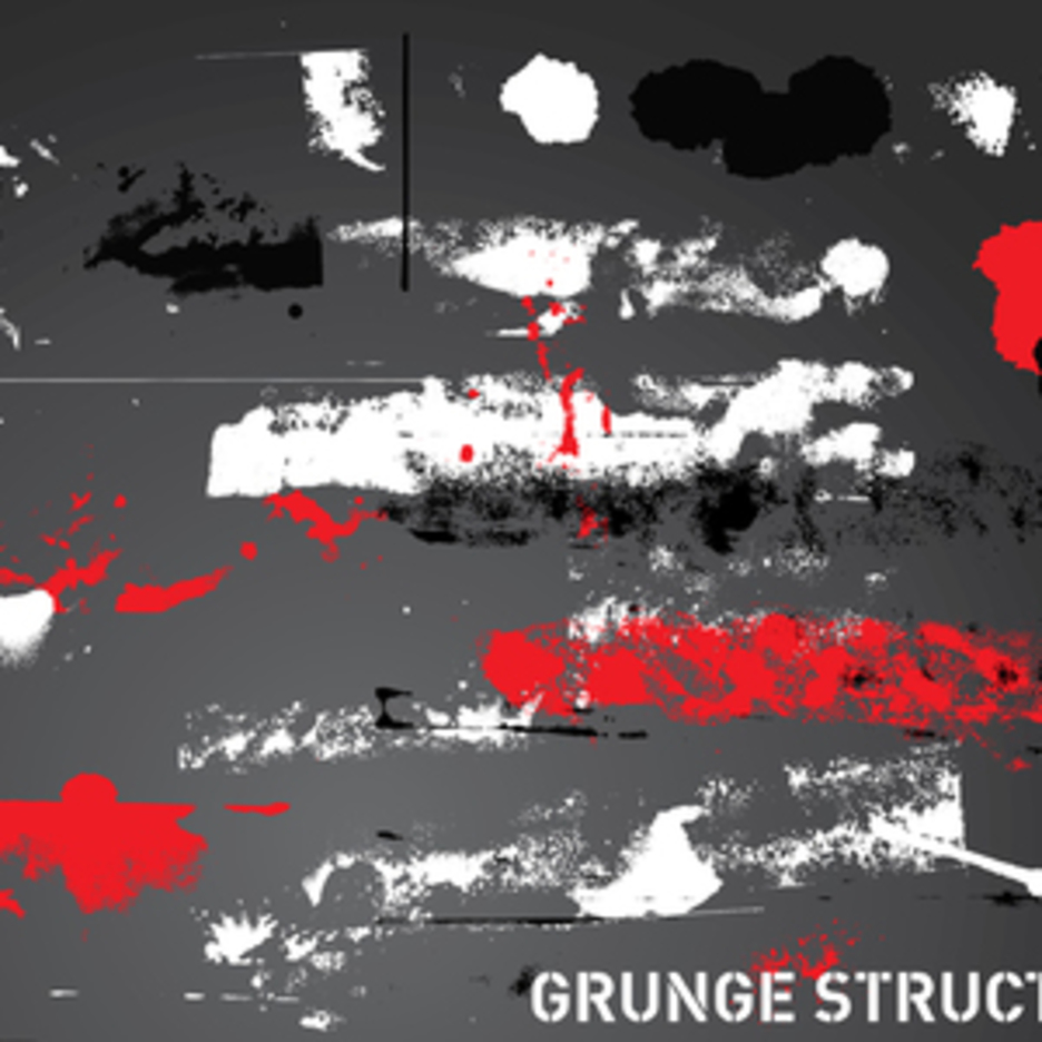 Grunge Illustration Vector Art Pack