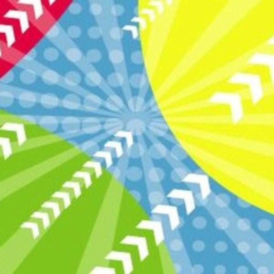 Colors In Backgound Vector Art