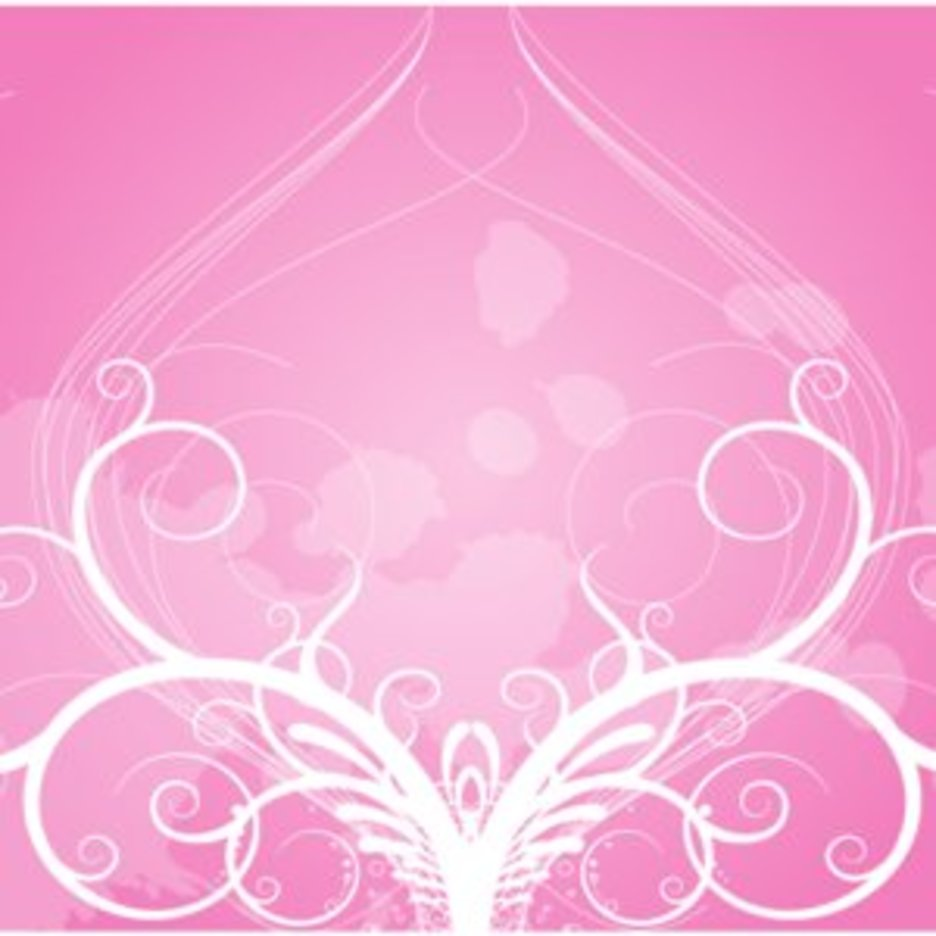 Floral Ornament Rose Background
