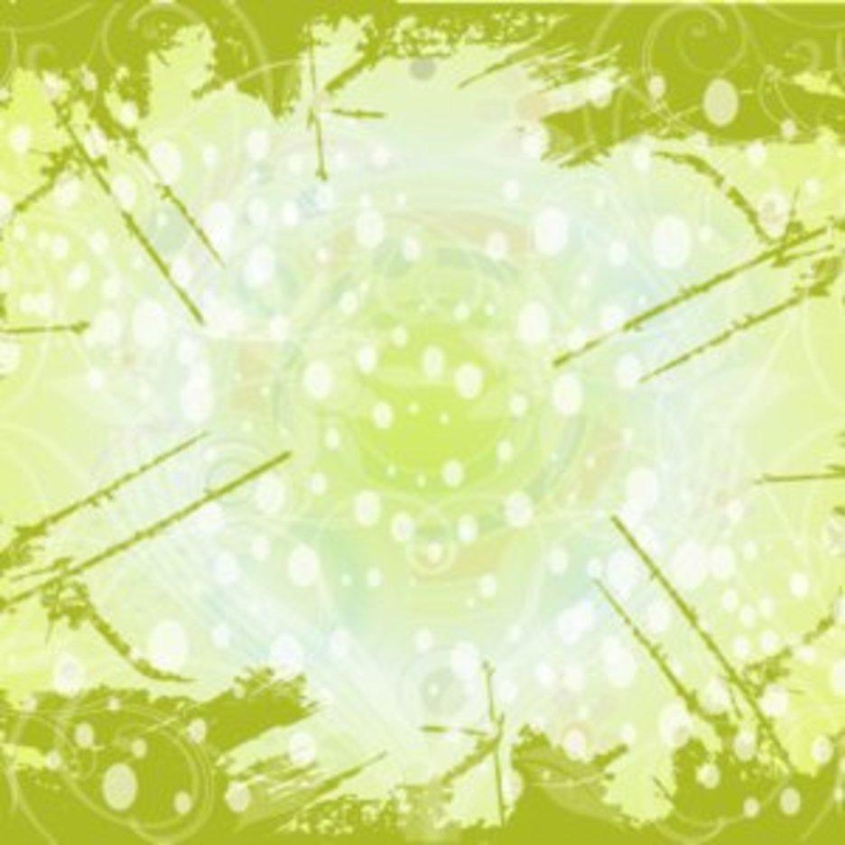 Swirly Grunge Green Background