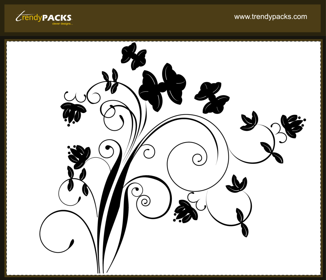 Free Floral Ornaments Vector