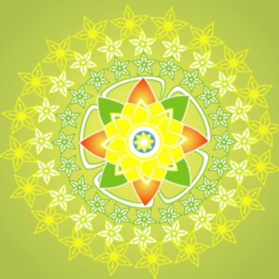 Green Flower 5