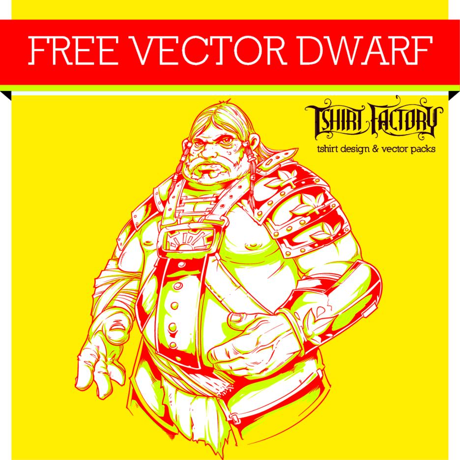 Free Vector Dwarf