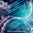 Abstract Glossy Background Design