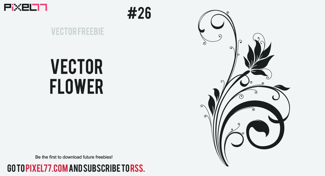Free Vector Flower 2