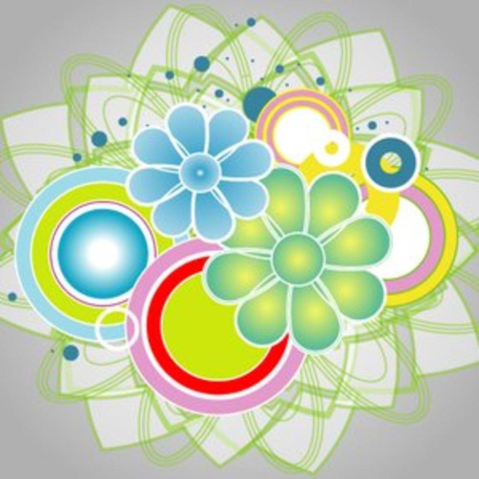 Abstract Colorful Vector IIII