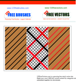 Striped Checked Pattern Vector