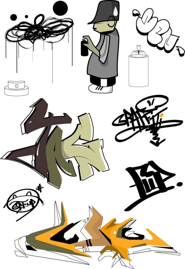 Graffiti Vectors