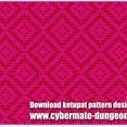 Ketupat Pattern Design 2