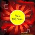 Sun Burst Vector Background Designs