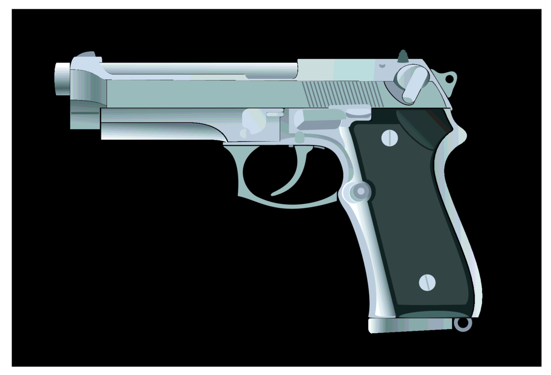 Handgun Vector Image