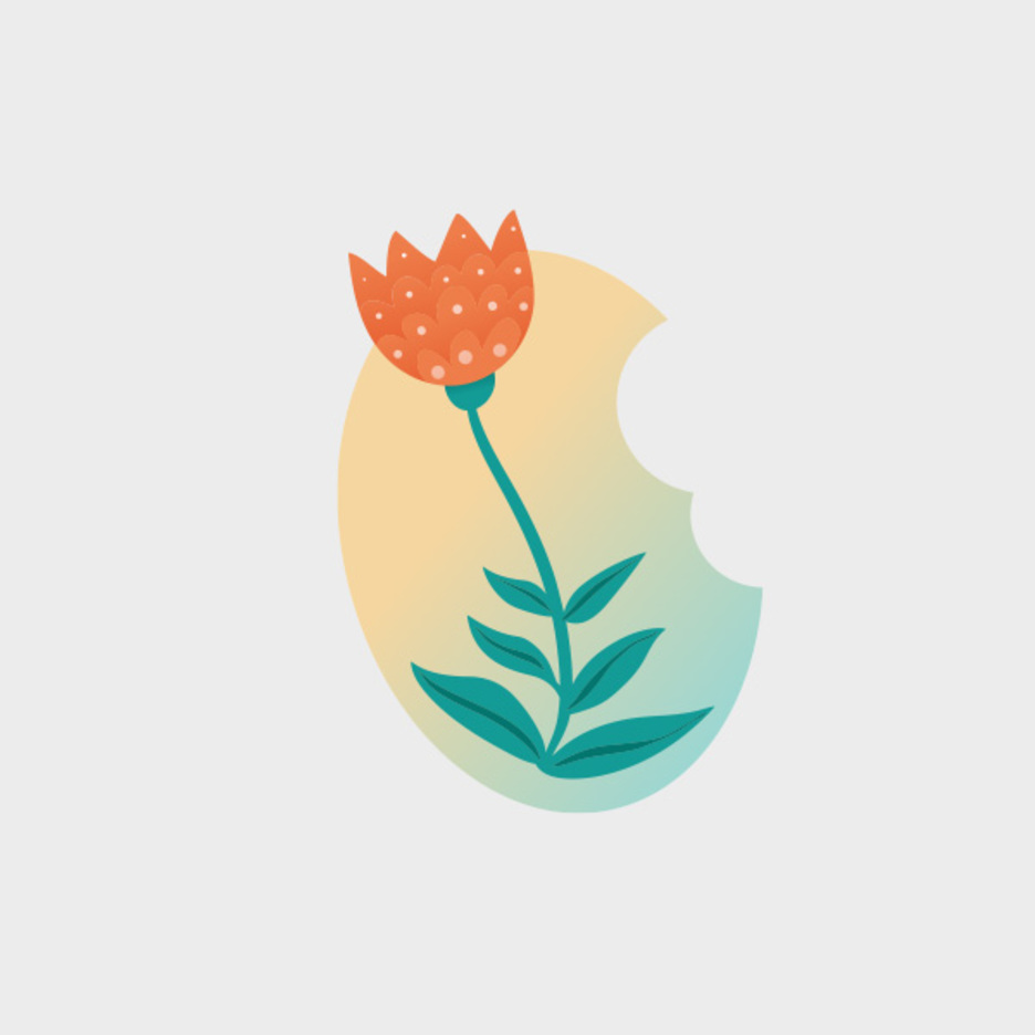 Easter Tulip Vector Flower