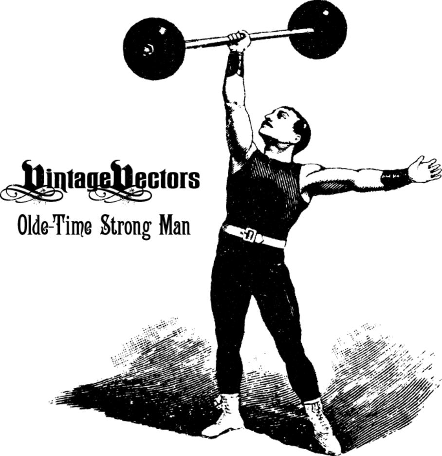 Classic Circus Strong Man
