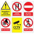 Printable Warning Signs