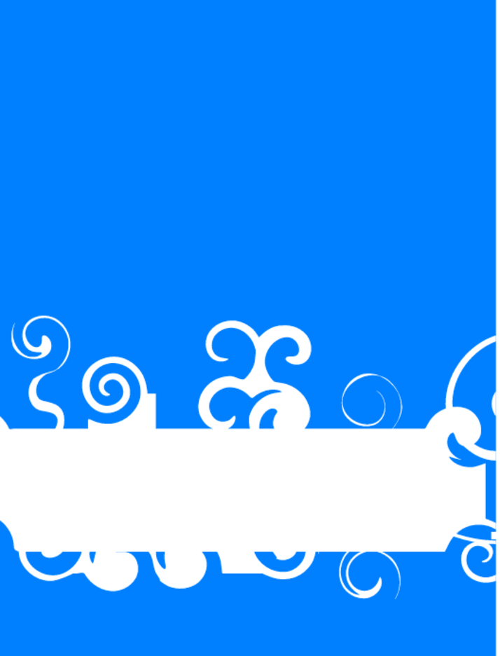 Simple Blue Background With Text Space