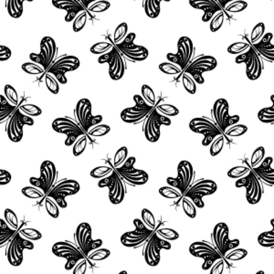 Butterfly Vector Pattern
