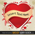 Love Heart By Vectoropenstock