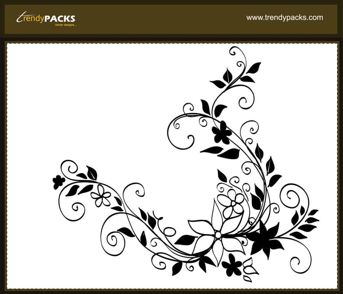 Floral Hand Drawn Vectors