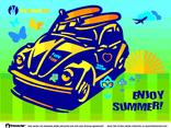 Summer Fun Beetle Car