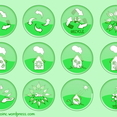 Ecology Button Set 2