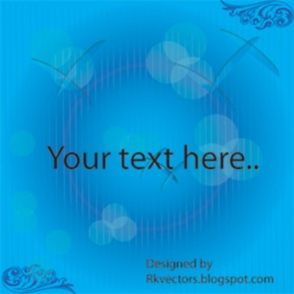 Abstract Vector Blue Background Designs