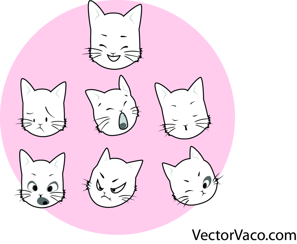 Kitty Vector Graphic