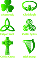 Irish & Celtic Symbol Vector Set