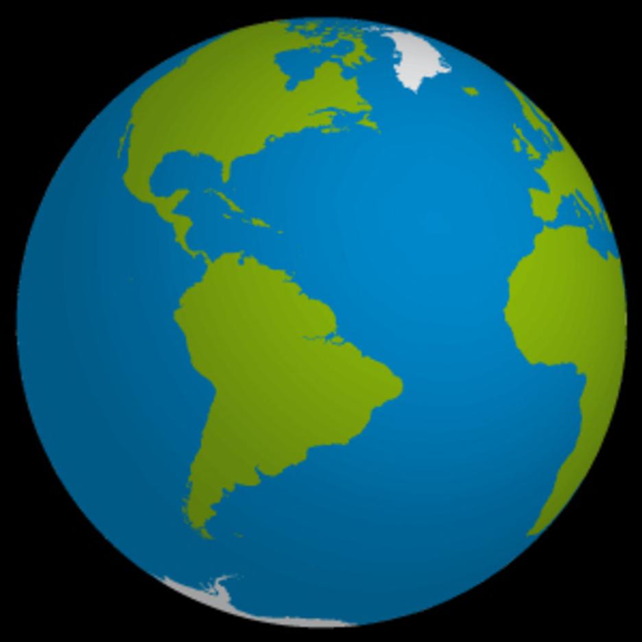 Planet Earth 3D Illustration