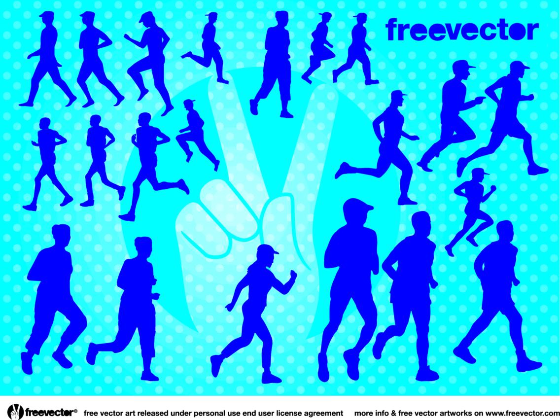 Runners Vectors
