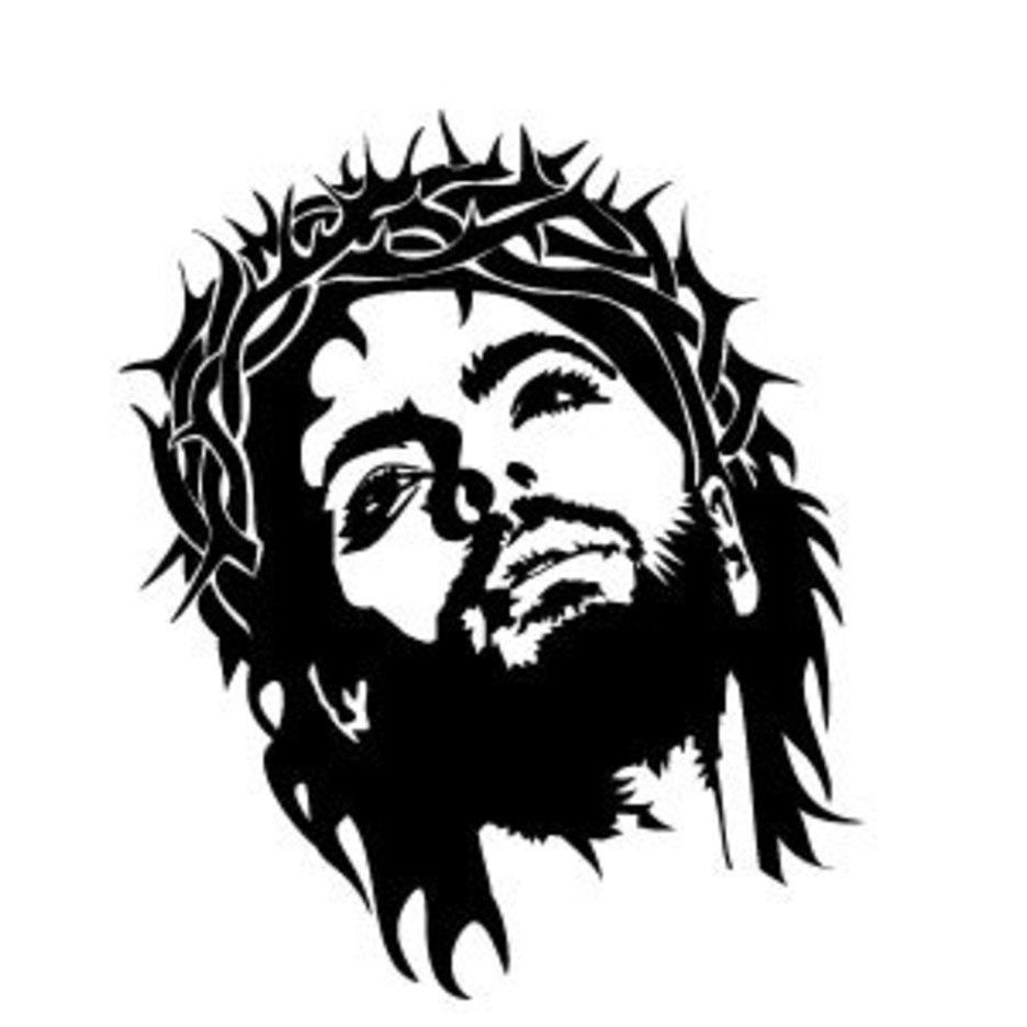 Jesus Christ Face Vector