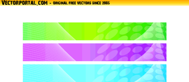 Abstract Banner Backgrounds