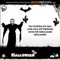 Halloween - Scary Postcard