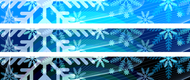 Christmas Vector Backgrounds For 728x90 Banners