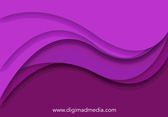 Abstract Art Swirl Background Vector