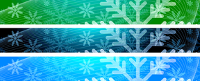 Christmas 728x90 Banner Backgrounds