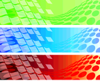 Abstract Banner Set 8