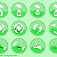 Ecology Button Set 1