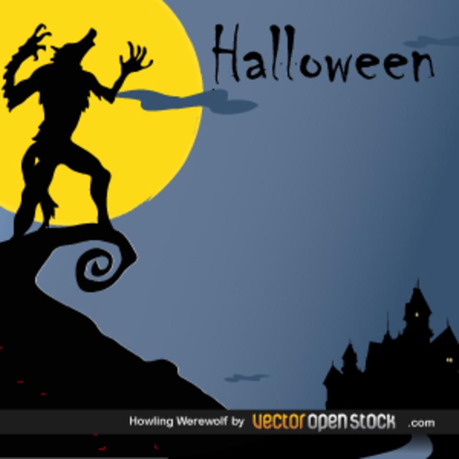 Halloween - Howling WereWolf
