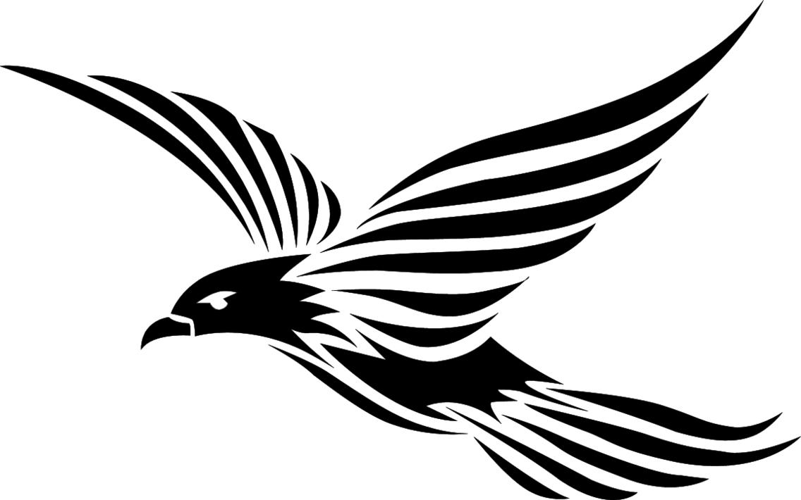 Bird Tribal Style Vector