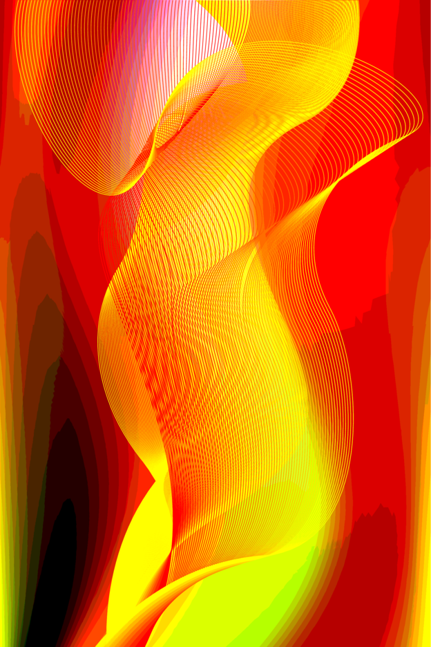 Vector Smooth Colorful Background