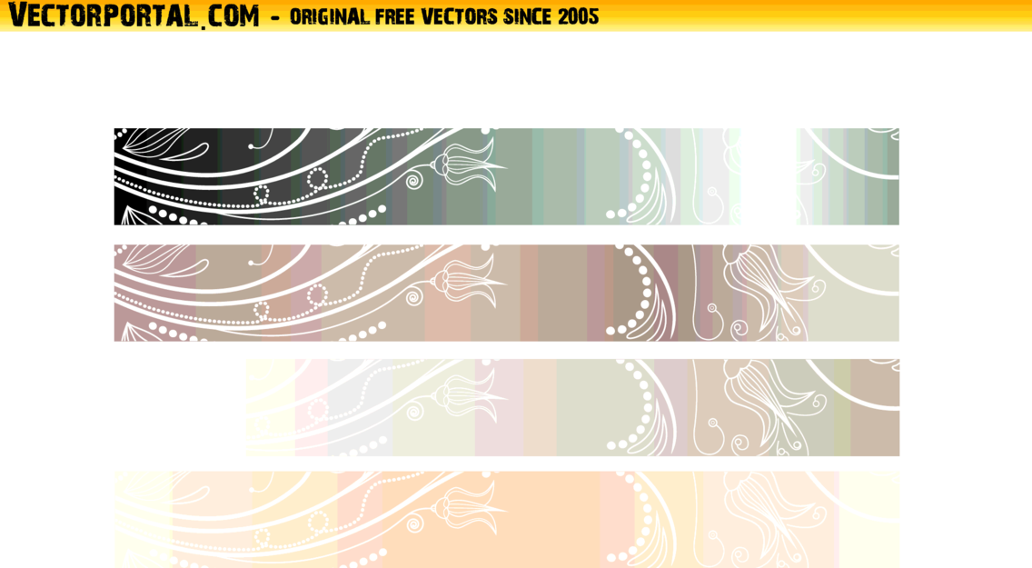 Vector Banners Set 9
