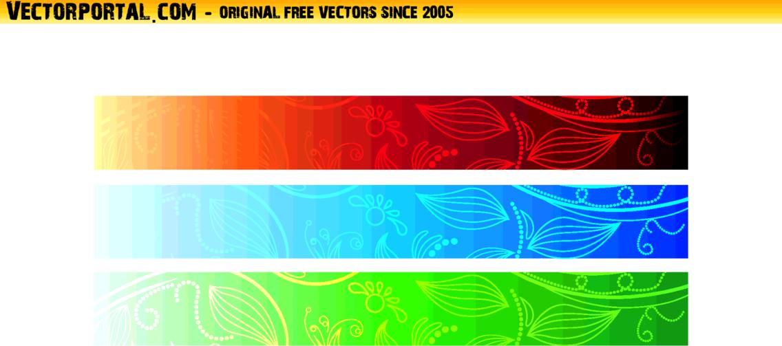 Vector Banners Set 10