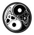 Ying Yang Skulls