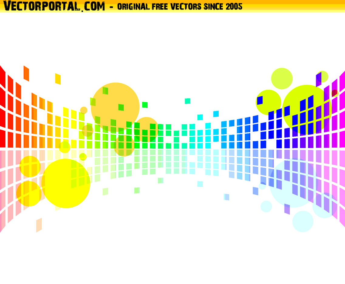 Abstract Colorful Vector Artwork