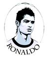 Cristiano Ronaldo Vector Portrait