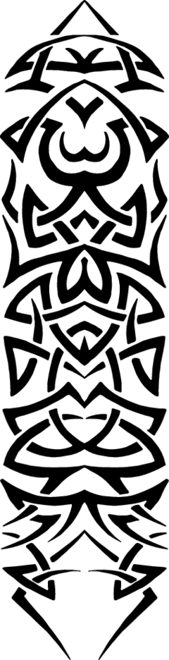 Tribal Tattoo Vector Element 2