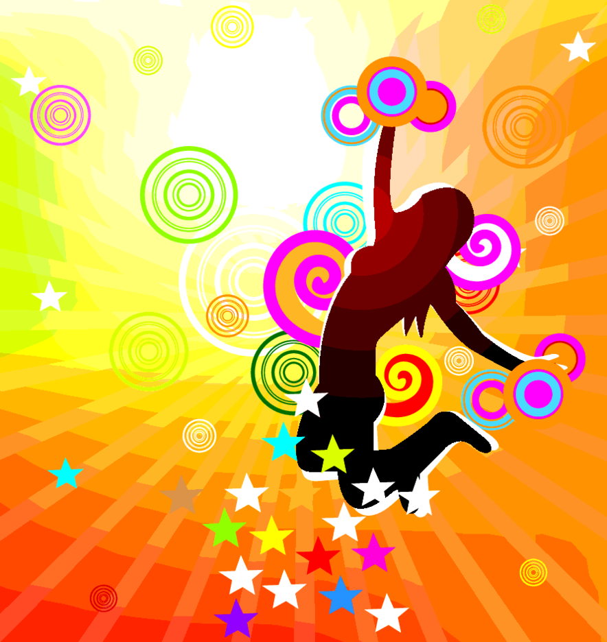 Colorful Jump