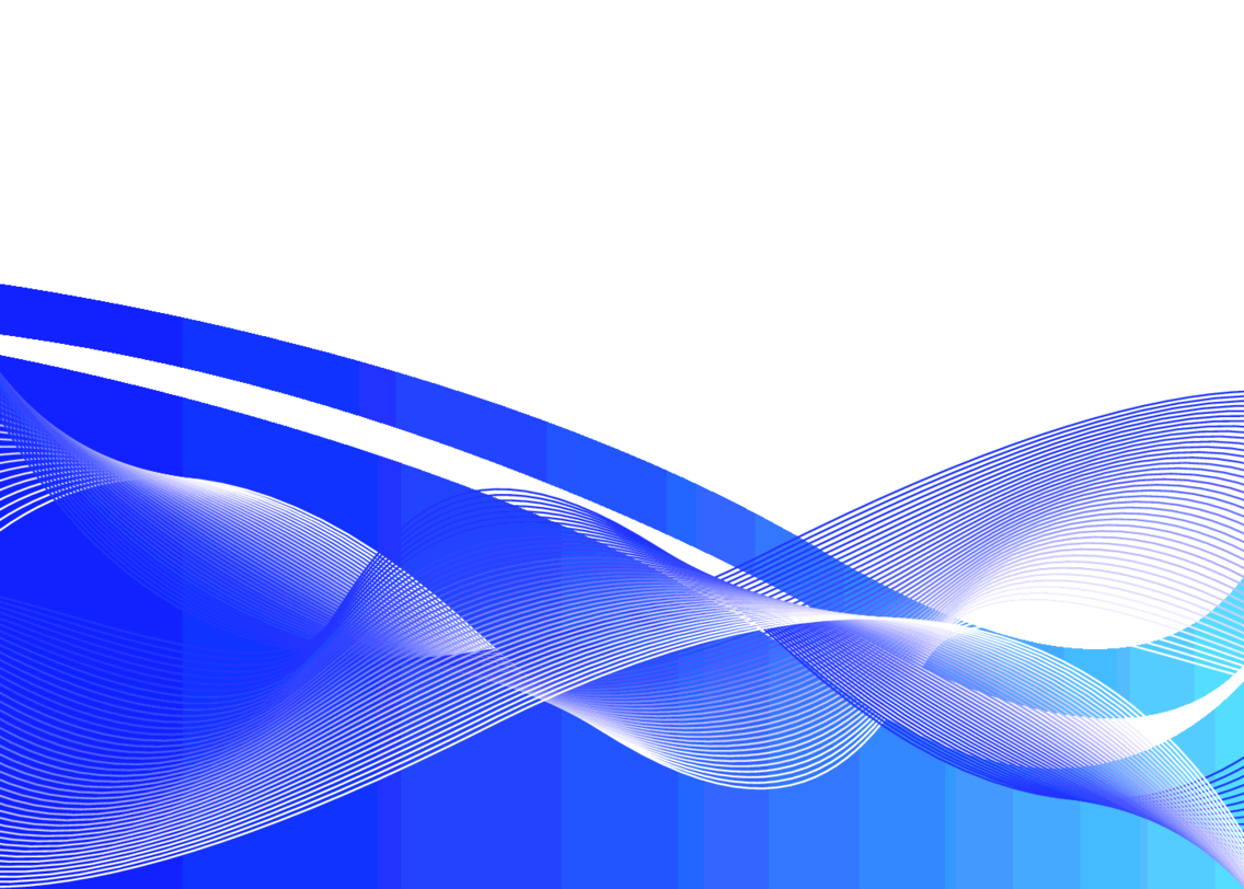 Blue Wavy Abstract Vector Background